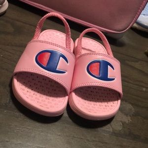 Pink girls slides